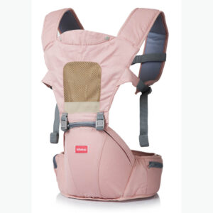 Baby Hip Seat Carrier Pink Color