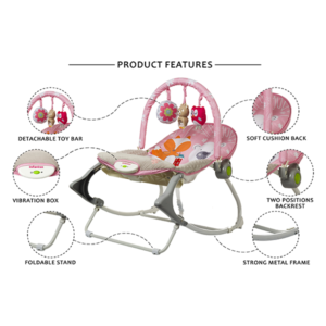 baby rocker with toy bar