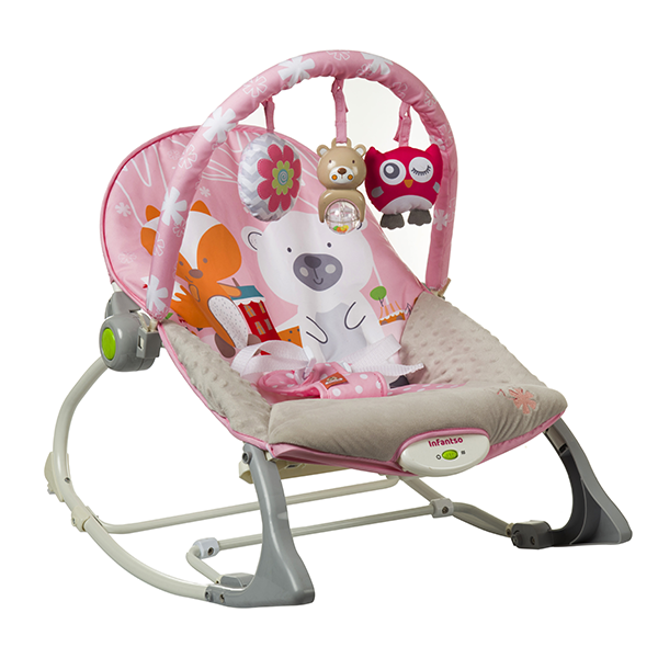 baby bouncer with toy bar