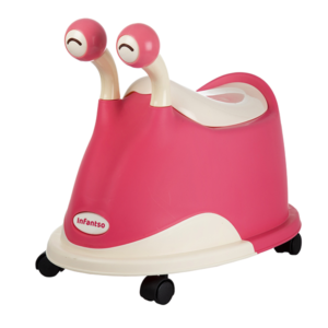 Snail Baby Potty Seat Pink